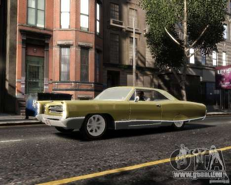 Pontiac Bonneville 1966 pour GTA 4 est une gauche