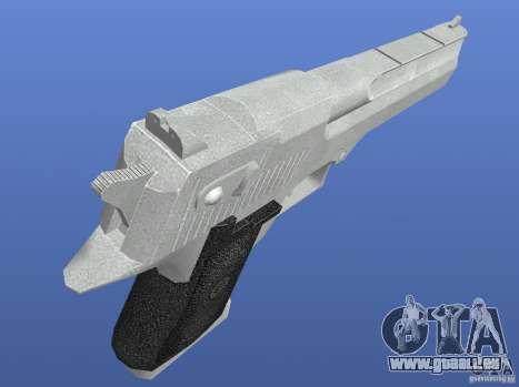 Silver Deagle pour GTA 4 troisième écran