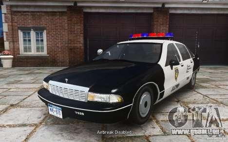 Chevrolet Caprice 1991 Police für GTA 4