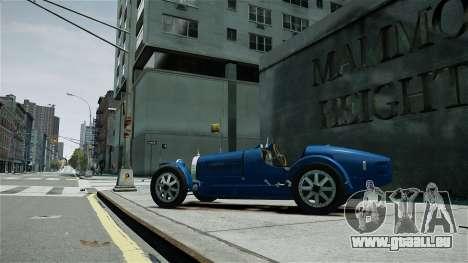 Bugatti Type 35C für GTA 4 linke Ansicht