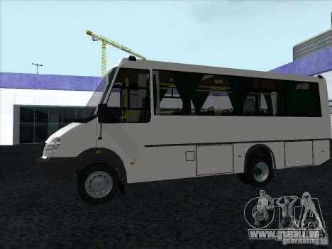 Golaz 3207 pour GTA San Andreas vue arrière
