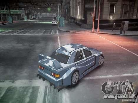 Mercedes 190E Evo2 pour GTA 4 Salon