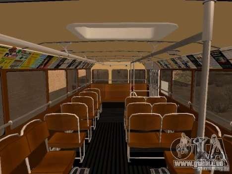 Ikarus 60 für GTA San Andreas Seitenansicht