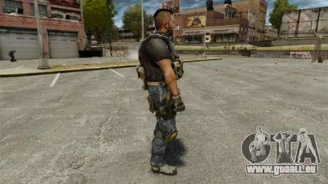 Le capitaine John « 4 » Mctavish pour GTA 4 secondes d'écran