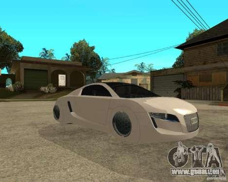 AUDI RSQ concept 2035 für GTA San Andreas rechten Ansicht