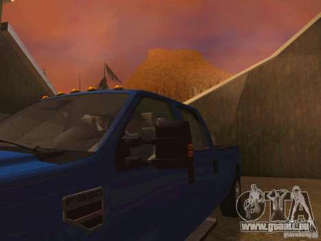 Ford F350 pour GTA San Andreas moteur