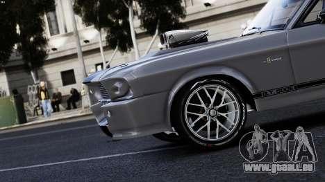 Ford Shelby Mustang GT500 Eleanor pour GTA 4 est un droit