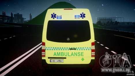 Mercedes-Benz Sprinter PK731 Ambulance [ELS] für GTA 4