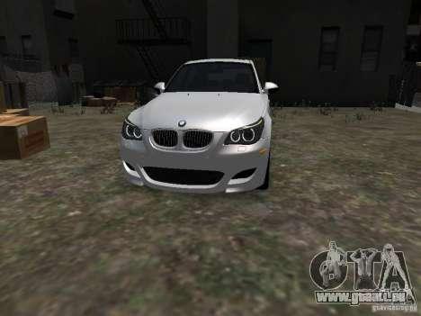 BMW M5 pour GTA 4 Vue arrière