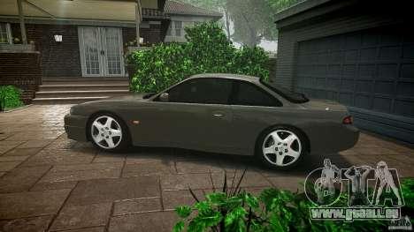 Nissan 200SX für GTA 4 Unteransicht