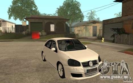 Volkswagen Jetta 2008 pour GTA San Andreas vue arrière