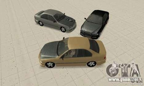 Bmw 528i für GTA San Andreas Rückansicht