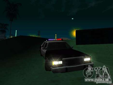 Ford Crown Victoria LTD 1992 SFPD pour GTA San Andreas