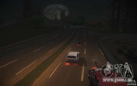 Route de HD v 2.0 finale pour GTA San Andreas quatrième écran