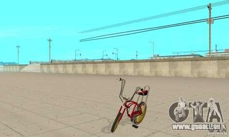CUSTOM BIKES BMX für GTA San Andreas