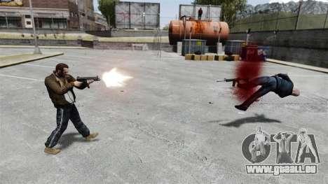 MP5 destroyer pour GTA 4 troisième écran