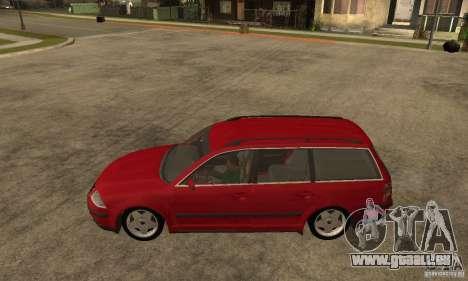 VW Passat B5 Variant für GTA San Andreas linke Ansicht