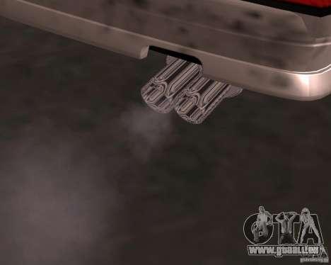 Taxi Cabrio für GTA San Andreas Unteransicht