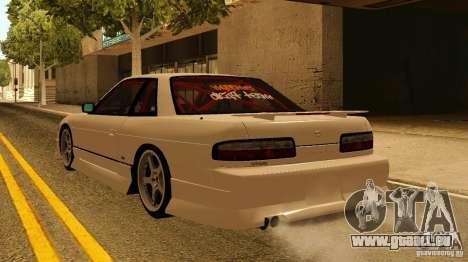 Nissan Silvia S13 MyGame Drift Team pour GTA San Andreas laissé vue