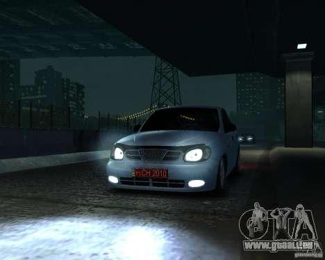 Daewoo Lanos für GTA 4 rechte Ansicht