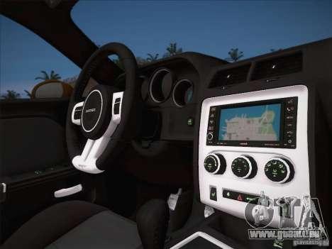 Dodge Challenger SRT8 2010 pour GTA San Andreas vue de côté