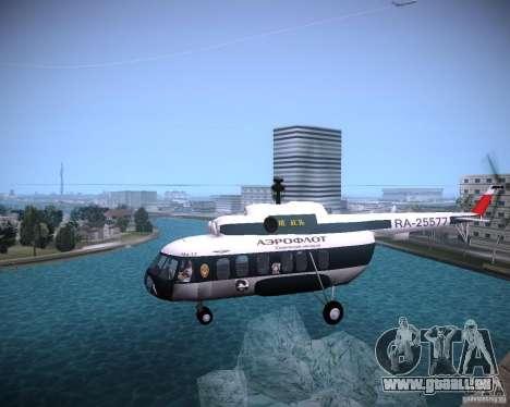 MIL MI-8 für GTA Vice City zurück linke Ansicht
