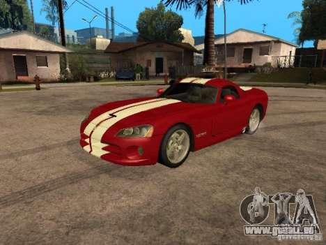 Dodge Viper für GTA San Andreas