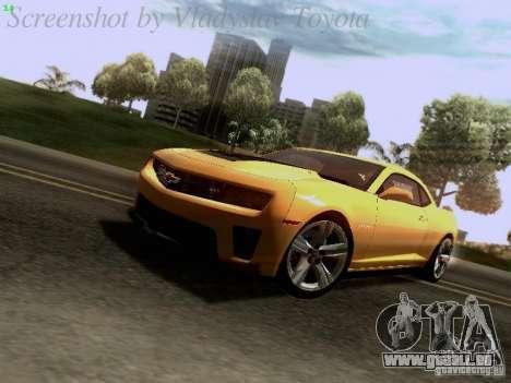 Chevrolet Camaro ZL1 2012 für GTA San Andreas