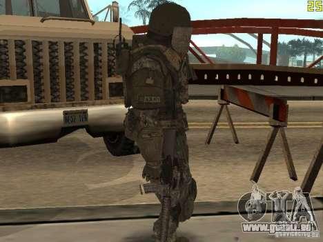 Combattre les soldats de CoD : Mw2 pour GTA San Andreas quatrième écran