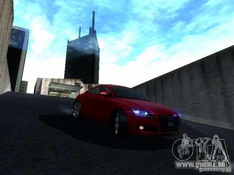 Audi TT 2009 v2.0 pour GTA San Andreas vue de côté