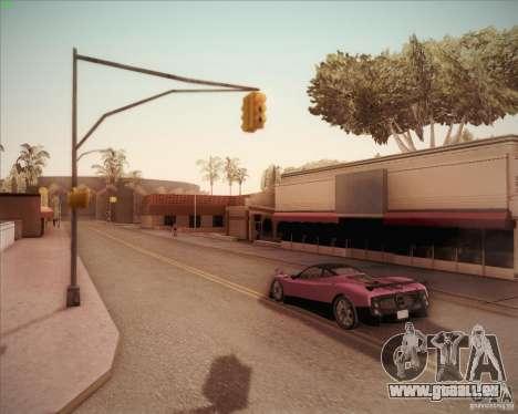 Pagani Zonda F V1.0 pour GTA San Andreas vue arrière