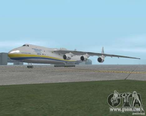 Die an-225 Mriya für GTA San Andreas
