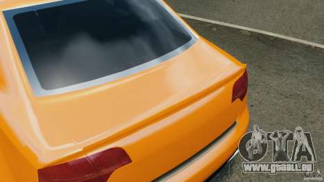 Audi RS4 EmreAKIN Edition pour GTA 4 roues
