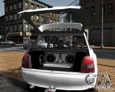 Opel Corsa B Tuning pour GTA 4 est une gauche