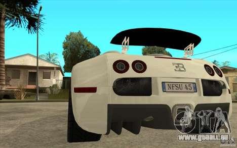Spoiler für das Bugatti-Veyron-Finale für GTA San Andreas dritten Screenshot