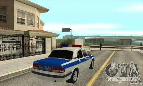 GAZ 31105 Volga DPS für GTA San Andreas rechten Ansicht