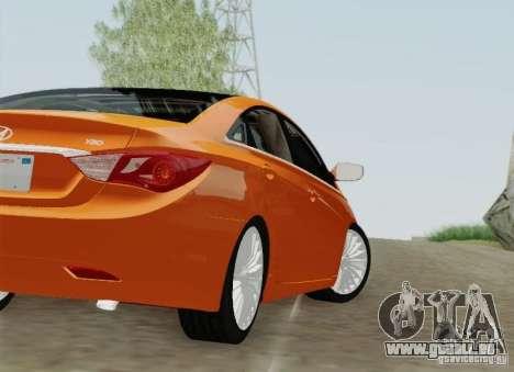 Hyundai Sonata 2012 für GTA San Andreas Räder