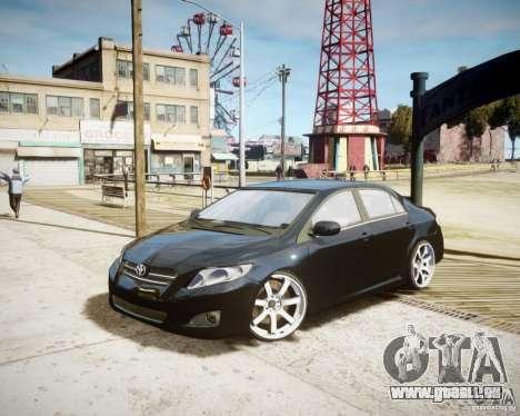 Toyota Corolla 2009 pour GTA 4