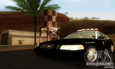 Ford Crown Victoria Wyoming Police für GTA San Andreas