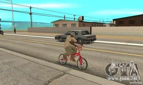 Noxon Jump Bmx pour GTA San Andreas vue de droite