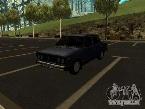 VAZ 21065 für GTA San Andreas Innenansicht