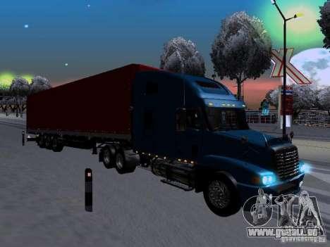 Freightliner Century pour GTA San Andreas vue de droite