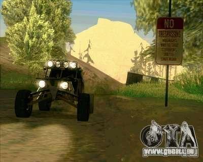 Ickler Jimco Buggy pour GTA San Andreas vue de côté