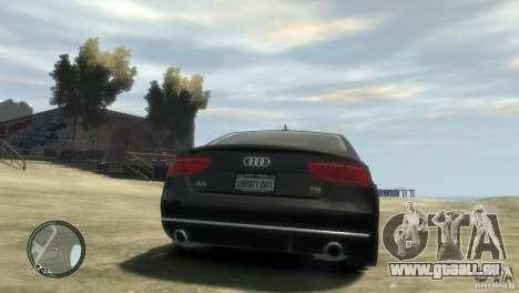 Audi A8 V8 FSI für GTA 4 linke Ansicht