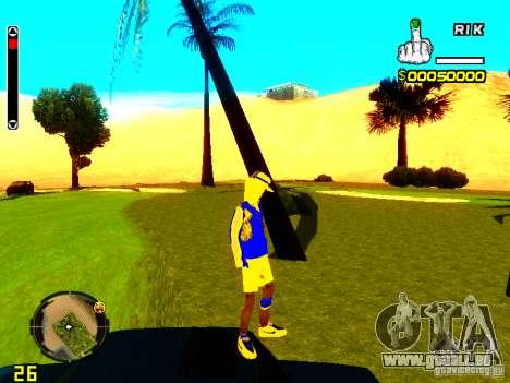 Peau bum v2 pour GTA San Andreas quatrième écran