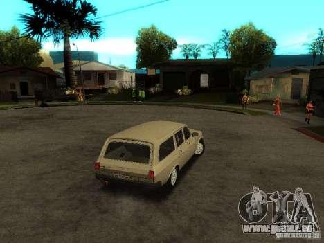 GAZ Volga 310221 Wagon pour GTA San Andreas vue de droite