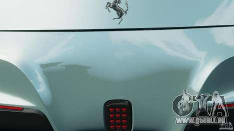 Ferrari F12 Berlinetta 2013 [EPM] pour GTA 4 est une vue de dessous