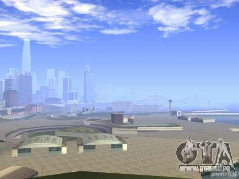 BM Timecyc v1.1 Real Sky pour GTA San Andreas deuxième écran