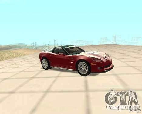 Chevrolet Corvette ZR1 für GTA San Andreas linke Ansicht