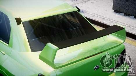 Subaru Impreza STI Wide Body pour GTA 4